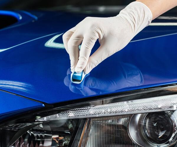 さまざまなカーコーティングメニューを用意。予算や洗車の頻度に応じてご提案いたします。